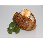 Baked Potato with butter and seasoning