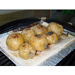 BBQ yellow potatoes with Spud Spikes